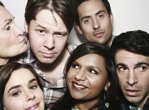 The cast of The Mindy Project, season 2